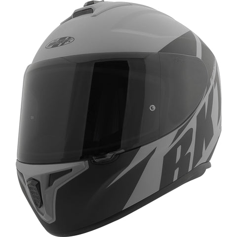 Casco Integral Joe Rocket RKT 8 Atomic Matte Gris / Negro