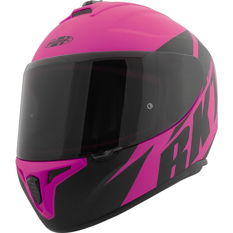Casco Integral Joe Rocket RKT 8 Atomic Matte Rosa - Mujer