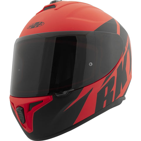 Casco Integral Joe Rocket RKT 8 Atomic Matte Rojo / Negro