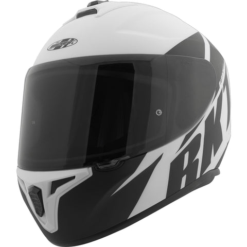 Casco Integral Joe Rocket RKT 8 Atomic Matte Blanco / Negro