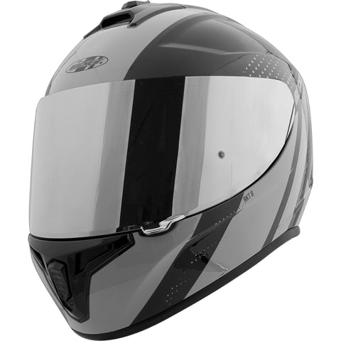 Casco Integral Joe Rocket RKT 8 Velocity Negro / Plata Iridium