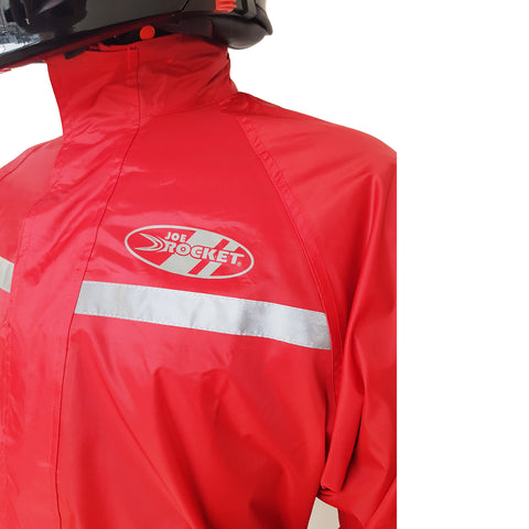 Impermeable Joe Rocket RS-1 Rain Suit Rojo