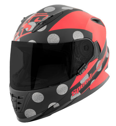 Casco Integral SS1310 Speed & Strength Spell Bound Red / Blk