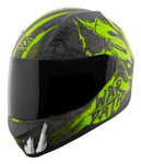Casco Integral SS700 Speed & Strength War Path HiVis / Black