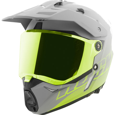 Casco Doble Propósito Joe Rocket RKT 26 Solar Flare Gris Iridium