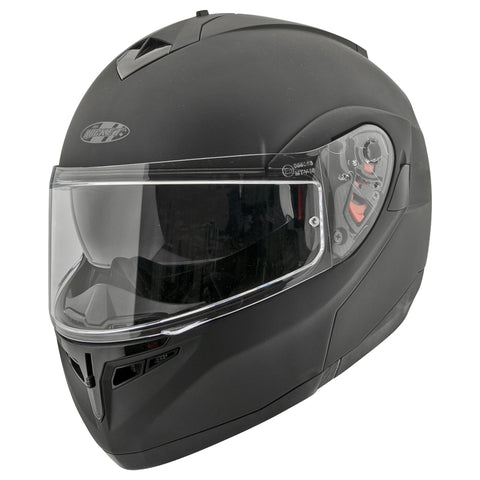 Casco Abatible Joe Rocket RKT 20 Solid Black - Negro Mate
