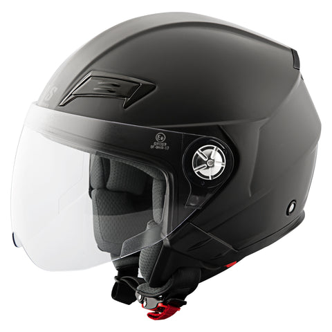 Casco Abierto 3/4 SS650 Speed & Strength Negro Mate