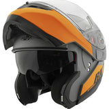 Casco Abatible Joe Rocket Rkt 20 Sonic Orange - Negro Mate