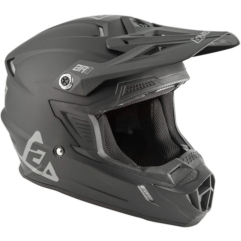 Casco Moto Cross Answer Ar1 Youth Voyd Negro Matte - Niños
