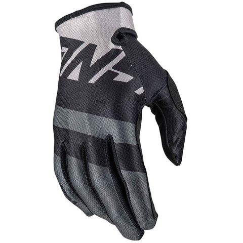 Guantes Answer Ar1 Voyd Youth Moto Cross Black / Steel Niños