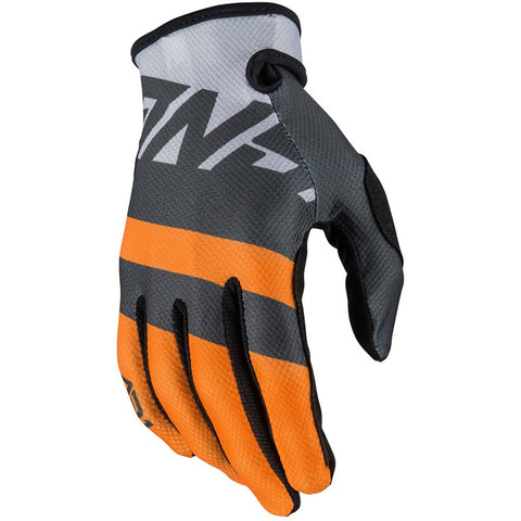 Guantes Answer Ar1 Voyd Youth Cross Charcoal / Orange Niños