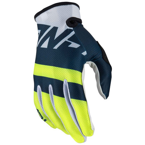 Guantes Answer Ar1 Voyd Moto Cross Midnight / White
