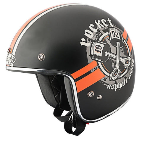 Casco Abierto 3/4 Joe Rocket  RKT 600 Big Bore