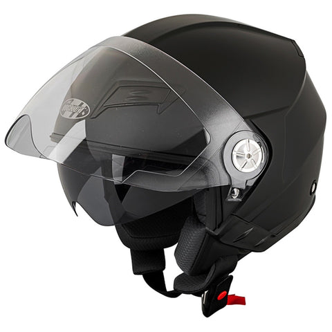 Casco Abierto 3/4 Joe Rocket  RKT 650 Negro Mate