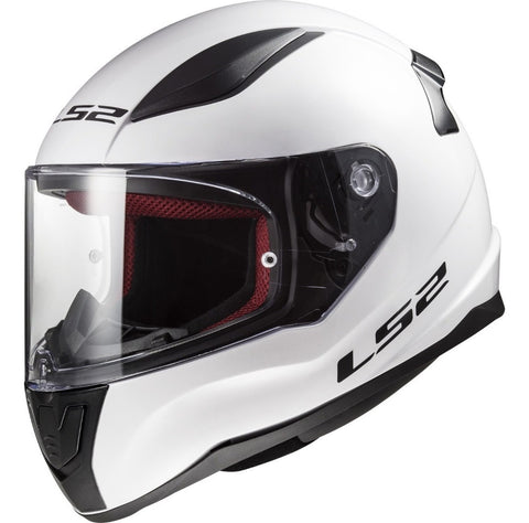 Casco Integral LS2 FF353 Rapid Solid Blanco