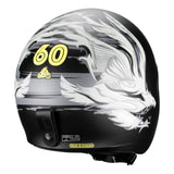 Casco Abierto 3/4 LS2 OF599 Spitfire Real MX Café Racer