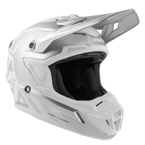 Casco Moto Cross Answer Ar1 Edge Gris / Blanco