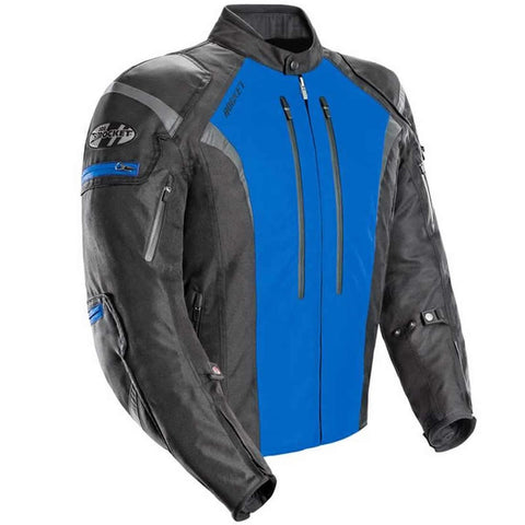 Chamarra Joe Rocket Atomic 5.0 Azul Impermeable