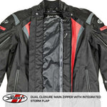 Chamarra Joe Rocket Atomic 5.0 Negro Impermeable