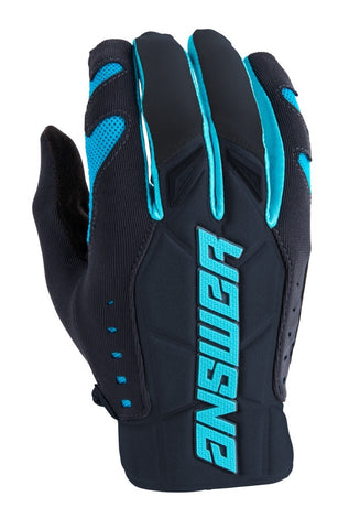 Guantes Answer AR4 Moto Cross Azul / Gris