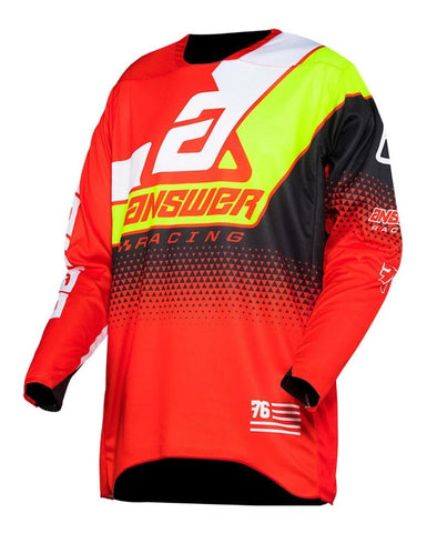Jersey Answer Elite Korza Red / White Moto Cross MX