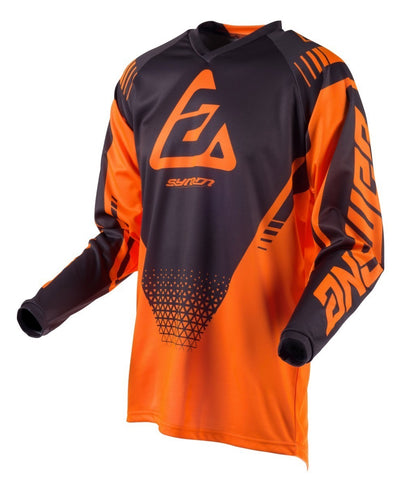 Jersey Answer Youth Syncron Drift Naranja / Carbón Motocross Niños