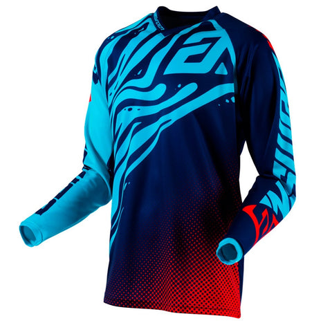 Jersey Answer Syncron Flow Azul / Aqua Moto Cross