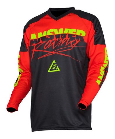 Jersey Answer Syncron Pro Glo Red / Black Moto Cross MX