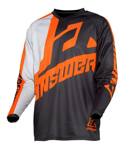 Jersey Answer Syncron Voyd Charcoal / Grey Moto Cross Mx