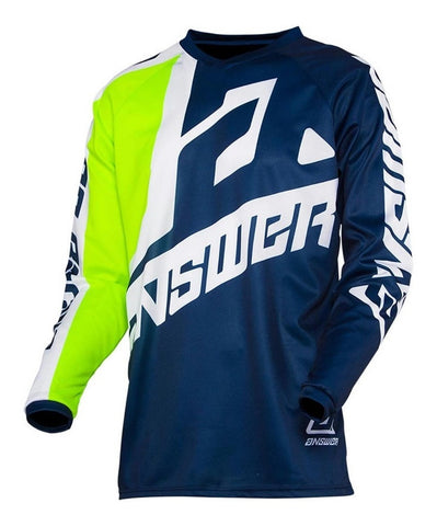Jersey Answer Syncron Voyd Midnight / White Moto Cross MX