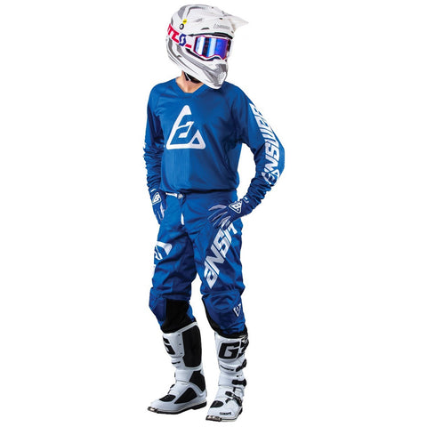 Kit de Jersey Y Pantalon Answer A18 Elite Azul