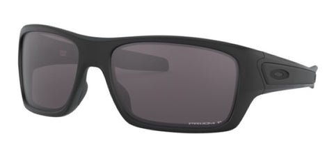 Oakley Turbine Matte Black / Prizm Grey Polarized OO9263-62