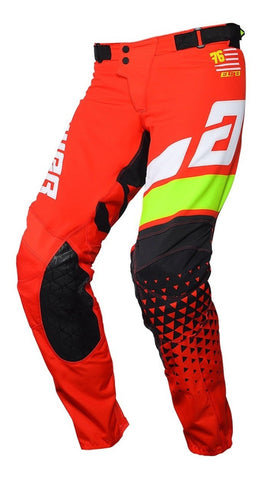 Pantalón Answer Elite Korza Red / White Moto Cross Mx