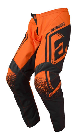 Pantalón Answer Syncron Drift Naranja / Carbón Moto Cross