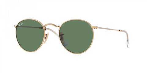 Ray-Ban Round Classic RB 3447 001 47 Green Classic G-15