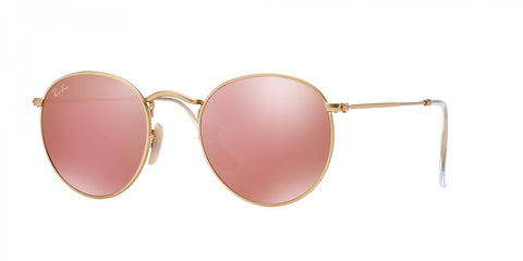 Ray-Ban Round Classic RB 3447 112/Z2 50 Gold / Copper Flash