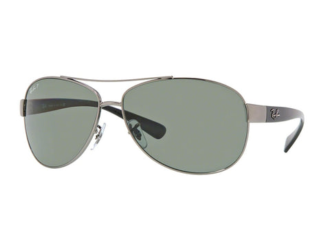 Lentes Ray-Ban RB 3386 004/9A 67 Gunmetal / Green Classic G-15 Polarized