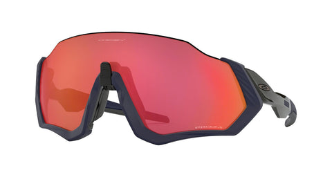 Oakley Flight Jacket Matte Navy Prizm Trail Torch OO9401-18
