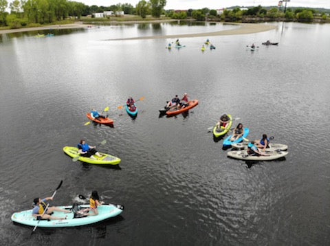 Crescent Kayaks on Quarry Springs