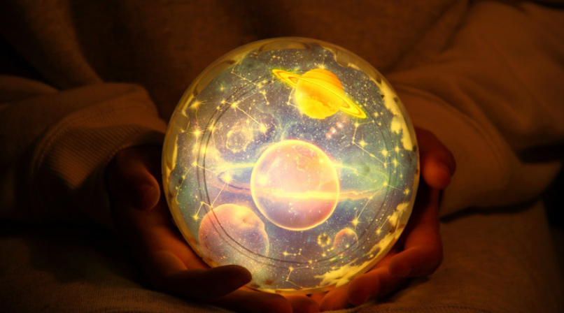 Cosmic starry sky LED Night Light Projector rotate