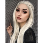 Elsa Blonde Synthetic Lace Front Wig