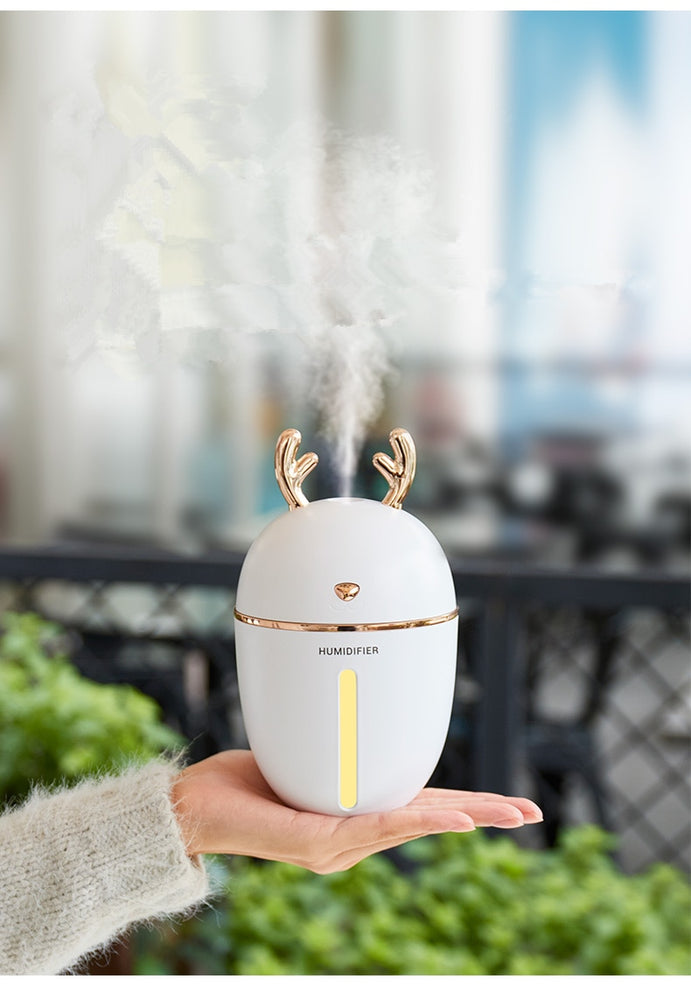 450ML Air Humidifier USB Aroma Essential Oil Diffuser
