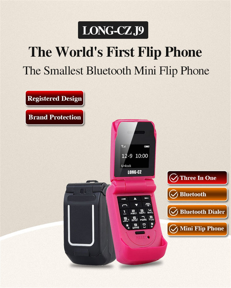 Funny Mini flip phone