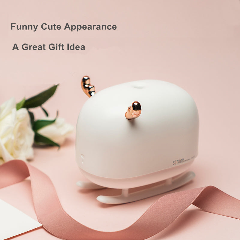 Sleigh Deer Ultrasonic Air Humidifier Aroma Essential Oil Diffuser