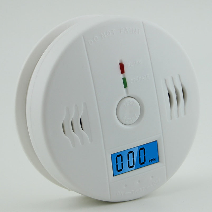LCD CO Sensor Poison alarm