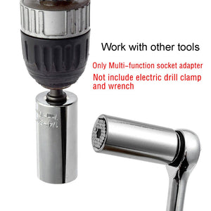 Universal Socket Wrench Power Drill