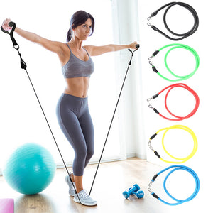 11pcs RESISTANCE BANDS SET
