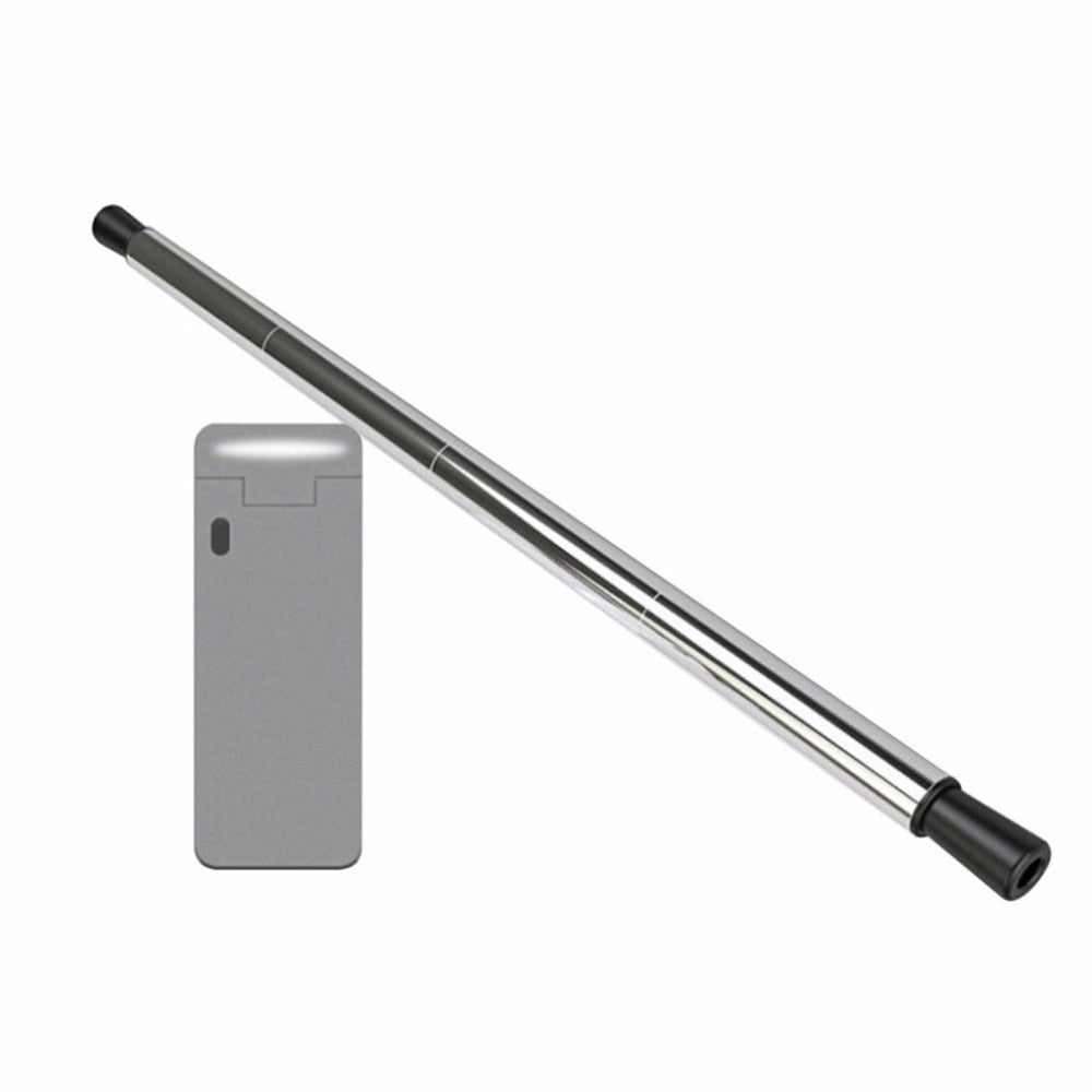 1PCS Stainless Steel Collapsible Reusable Straw