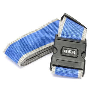 Luggage Strap With Password Lock