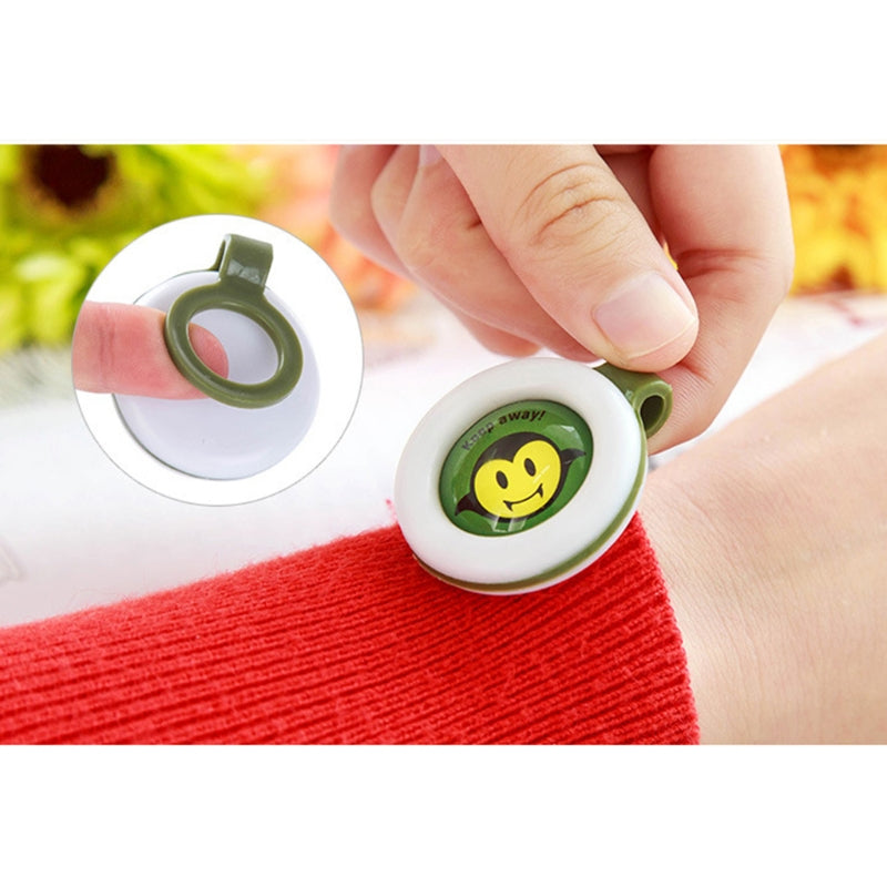 Anti-Mosquito Button Bracelet